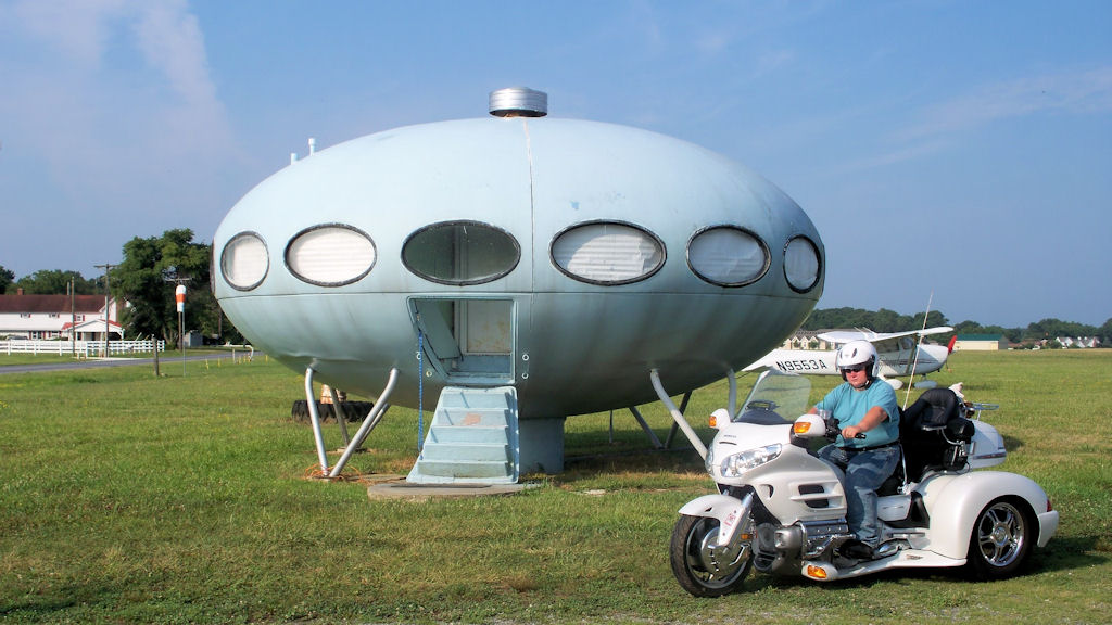 Delaware Spaceship House
