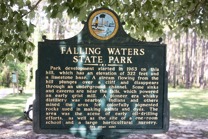 Florida's Falling Waters Sink