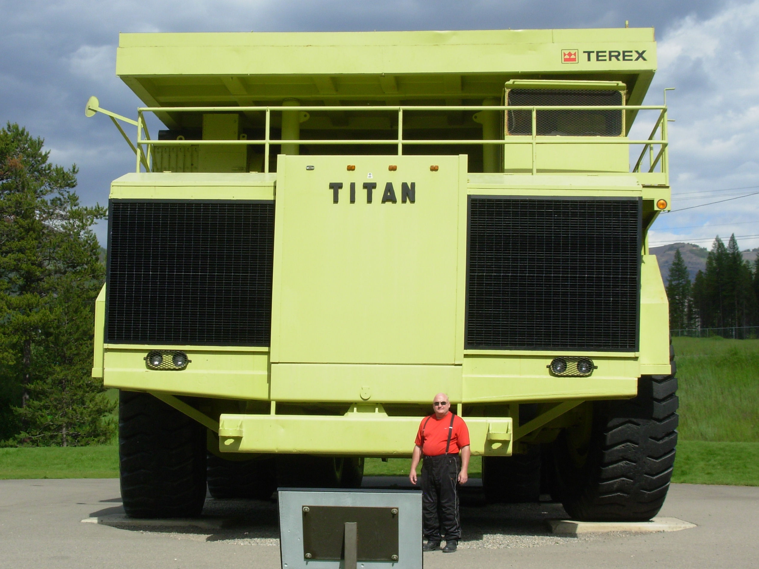 The Terex Titan!