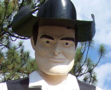 Hat Creek Muffler Man