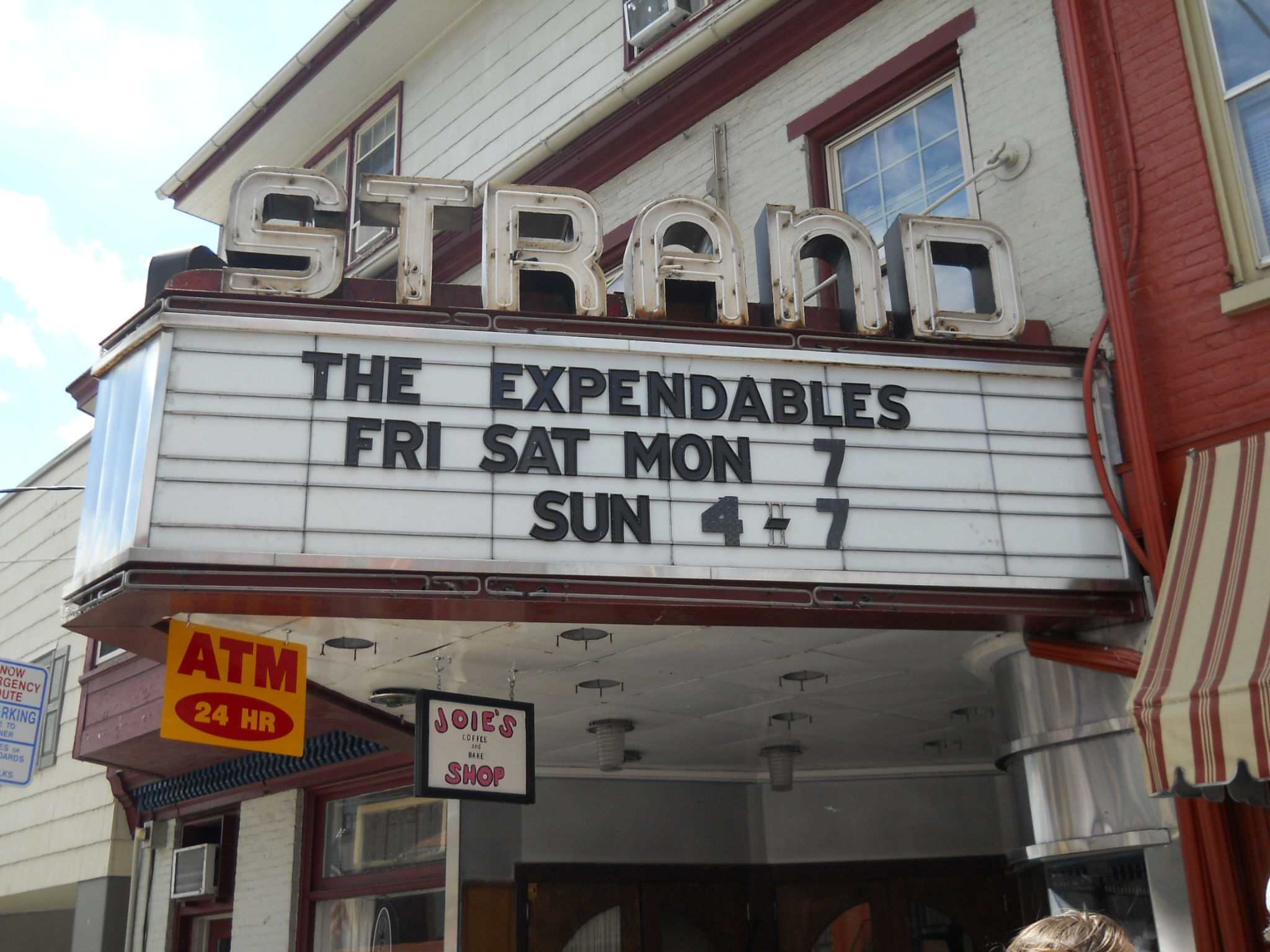The Strand Theater Marquee