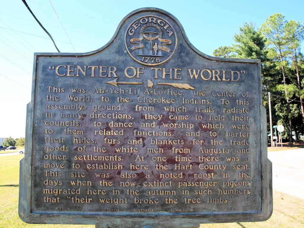Cherokee Center of the World