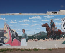 Rt 66 The Dodge & Cowboy Mural