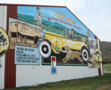 Route 30 Mural in St. Thomas