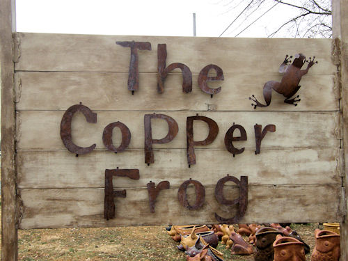 The Copper Frog
