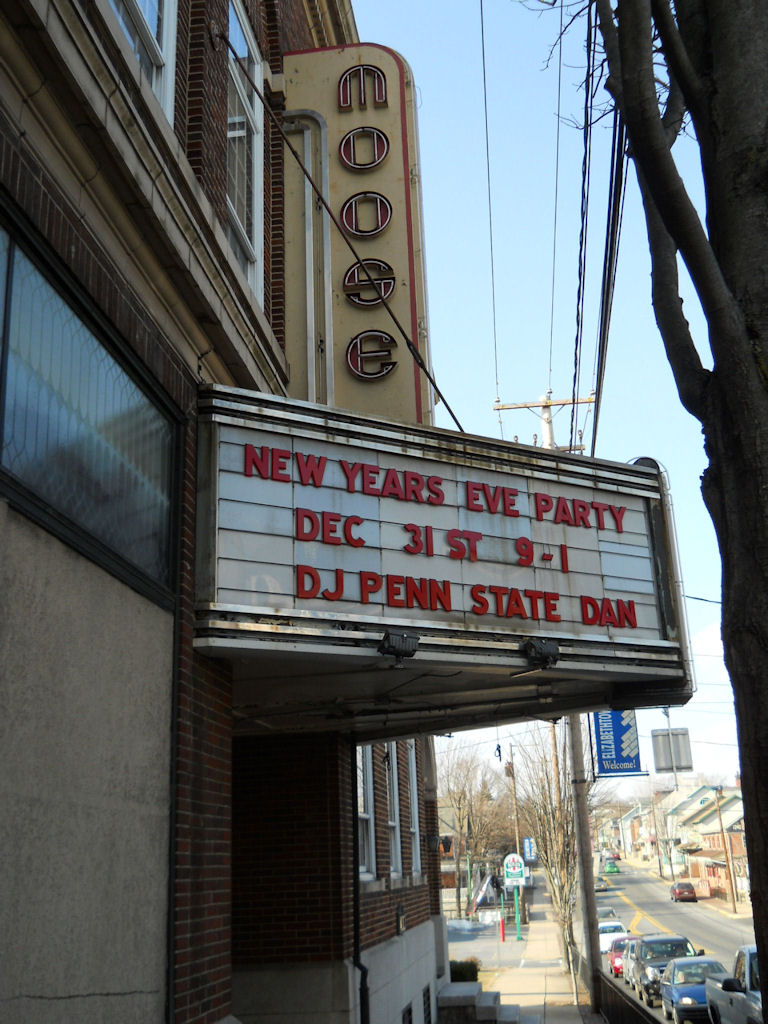 Moose Theatre Marquee