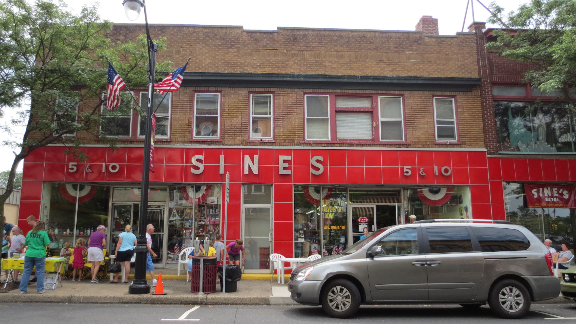 Celebrating 100 Years! Sine's 5 & 10 Cent Store