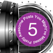 5 Pretty Awesome Posts Challenge