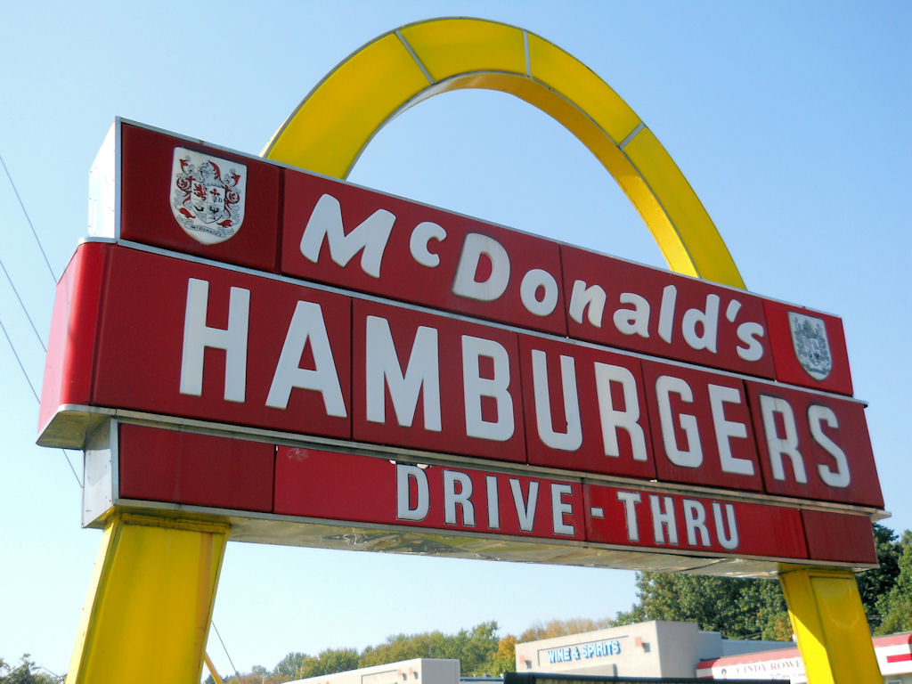 One Arch McDonald's Sign