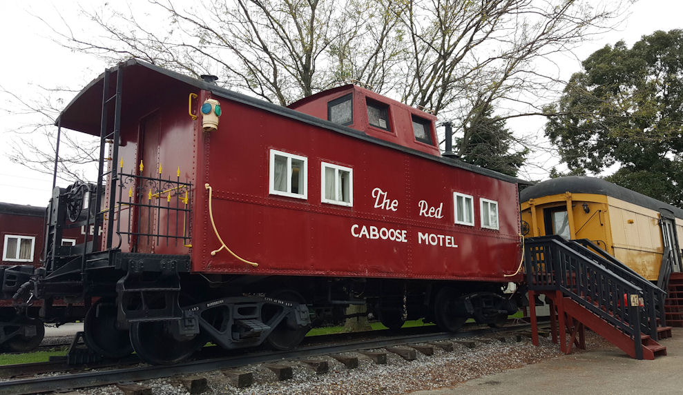 The Red Caboose Motel