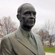 Ike's Office Statue