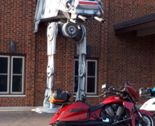 Stars Wars AT-AT Walker in an Unusual Spot