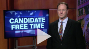 Cam Davis on WTTW Candidate Free Time
