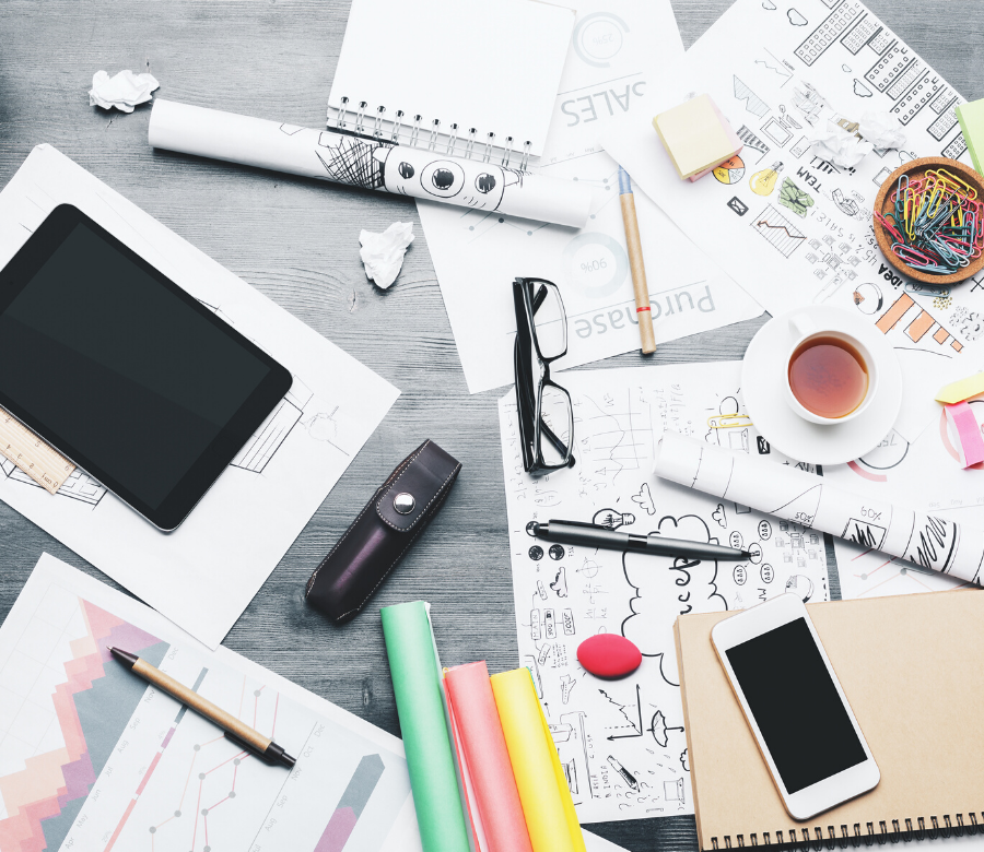 Cluttered Desk Leads to Mental Chaos