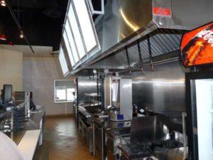 Commercial Kitchen Hood Vent Service