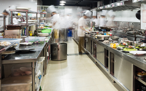 Commercial Cooking Exhaust Hoods​
