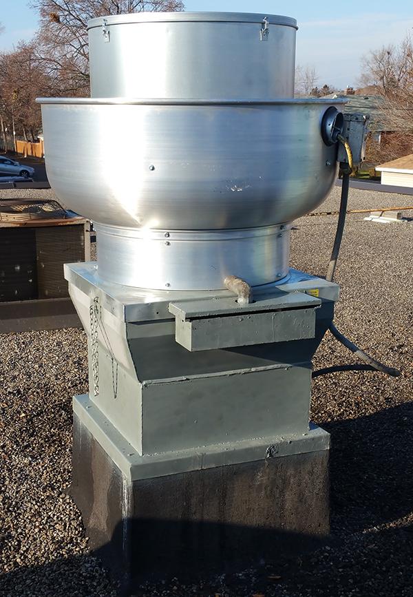 Commercial Kitchen Exhaust Fan