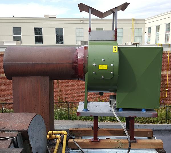 Commercial Range Hood Exhaust Fan