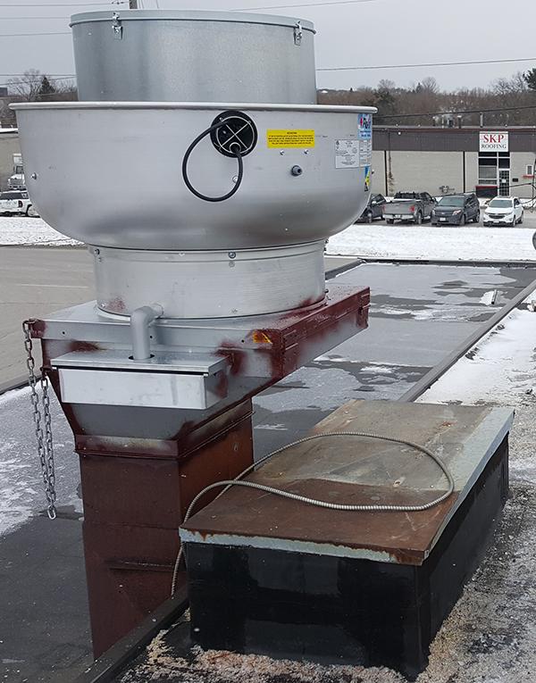 Restaurant Kitchen Exhaust Fan