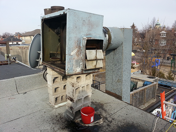 Restaurant Exhaust Fan Repair