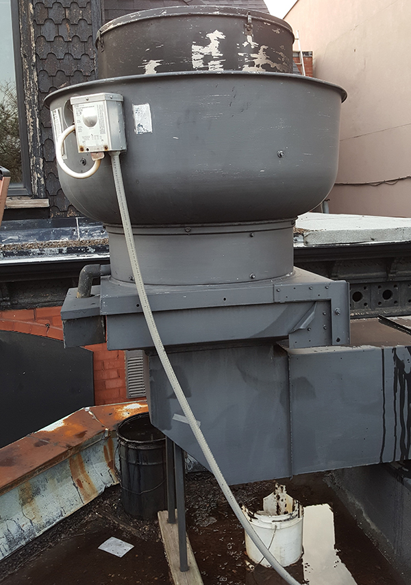 Commercial Cooking Exhaust Fan Maintenance