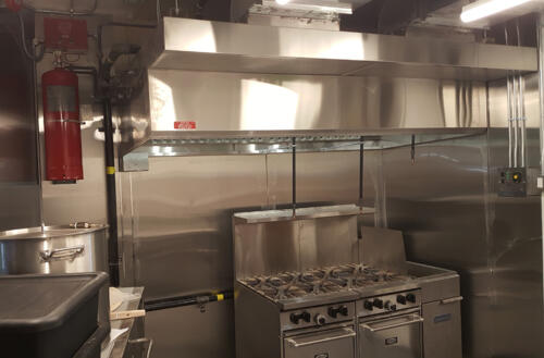 Restaurant Exhaust Hood