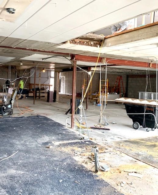Progress on Midway Dispensary