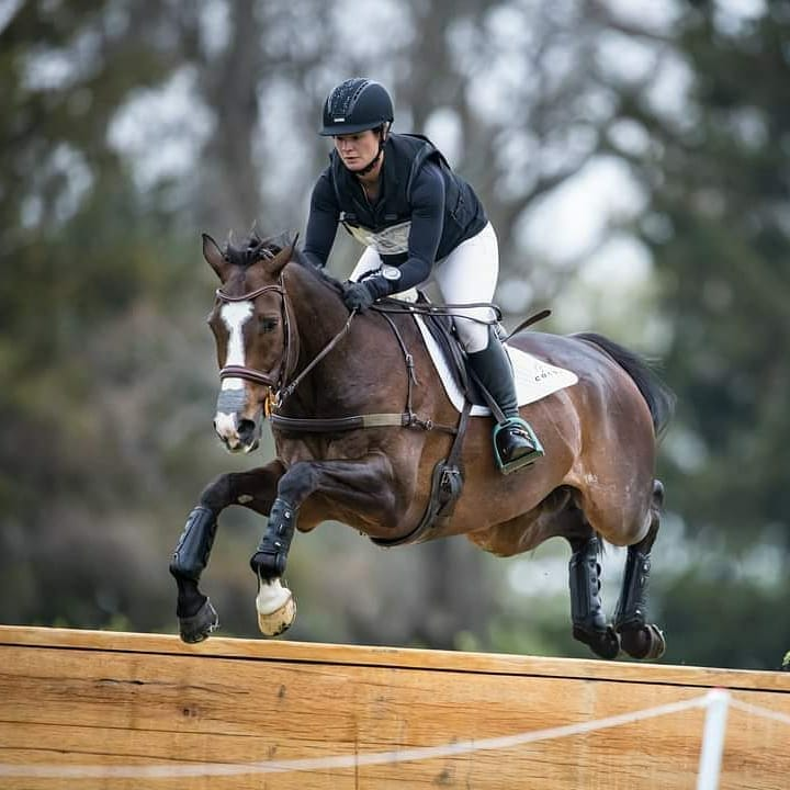 Leah Lang-Gluscic and AP Prime at Land Rover Kentucky 3-Day Event