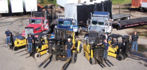 Machinery Rigging Capabilities & Equipment Forklifts – Our forklifts have capacity from 2,000 – 100,000 lbs and can be equipped with fixed or hydraulic rigging booms. 3,000-60,000lbs Versa-Lifts, Non-marking tire lifts, all terrain lifts – can carry up to 100,000lbs Gantry Systems – both mechanical and hydraulic from 3 - 500-ton capacity Boom Truck Services Cranes – We have crane capacity from 3 to 150 tons to move your equipment safely and effectively. Multiple Traksporter powered dolly systems –remote controlled, the Traksporter systems get all your equipment through tight spaces Heavy Haul & OD Transportation – Tractor Trailer fleet – 100% Air Ride, including tilt beds, traveling axle trailers, Conestoga trailers, flat beds, step decks, single and double drops, and RGN trailers