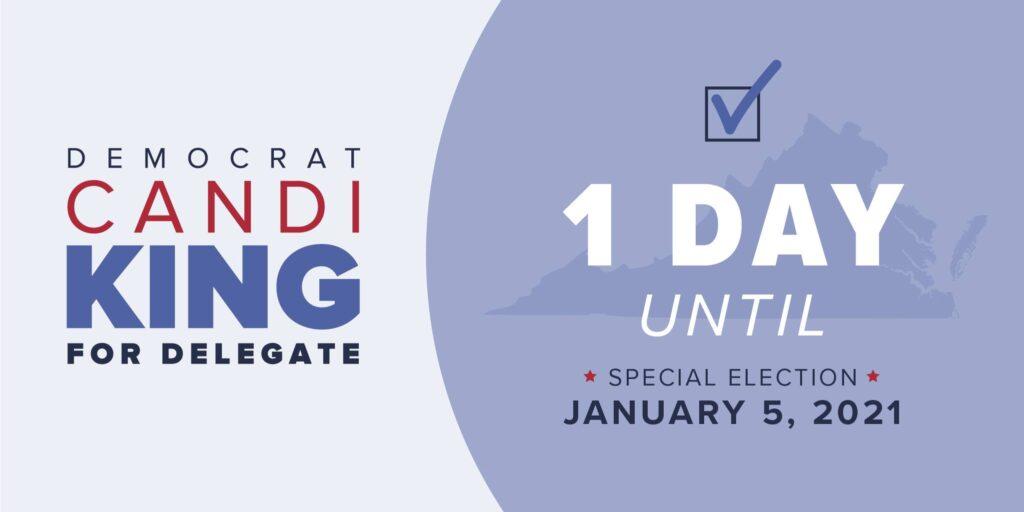 2021 Election Candi King For Delegate