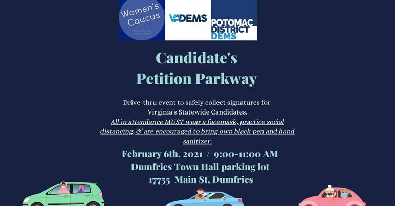 2021 Candidate Petition Parkway