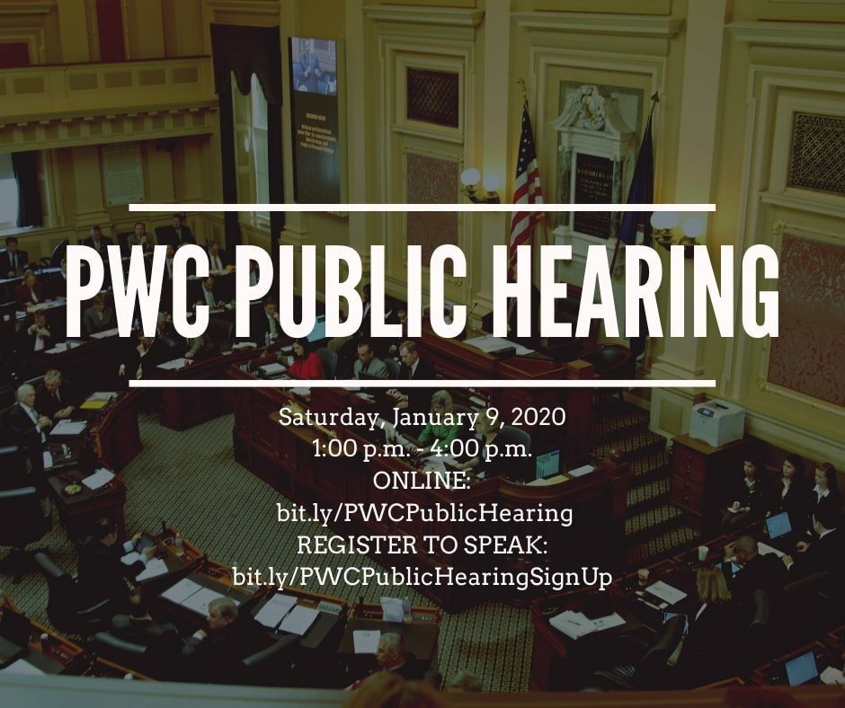 Prince William County Public Hearing 2021