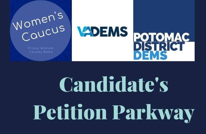 2021 Womens Caucus Candidates Petition Parkway