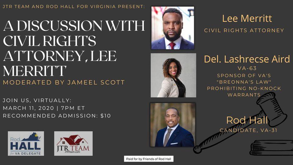 Conversation With Civil-Rights Attorney Lee Merritt