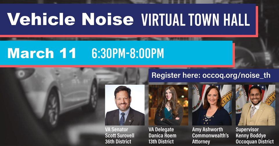 Virtual Town Hall: Vehicle Noise