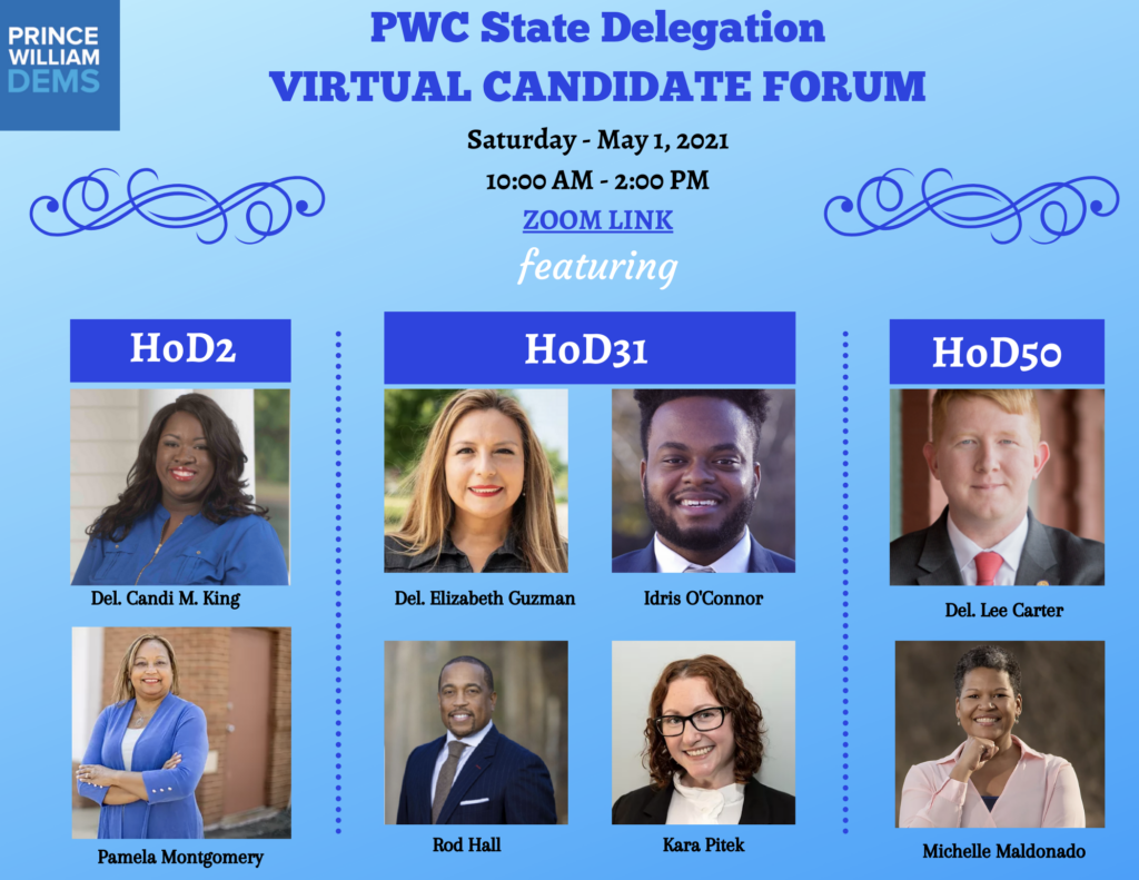2021 PWC State Delegation Virtual Candidate Forum
