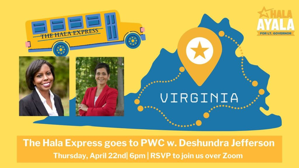 The Hala Express Goes To Prince William County