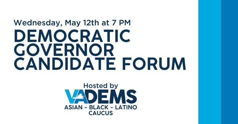 Democratic Governor Candidate Forum
