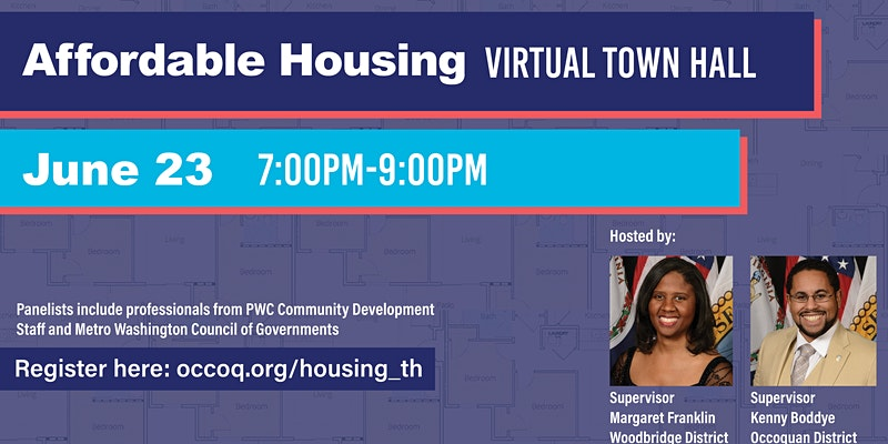 Affordable Housing Virtual Town Hall with Supervisors Margaret Franklin and Kenny Boddye