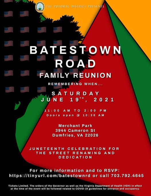Batestown Road Family Reunion