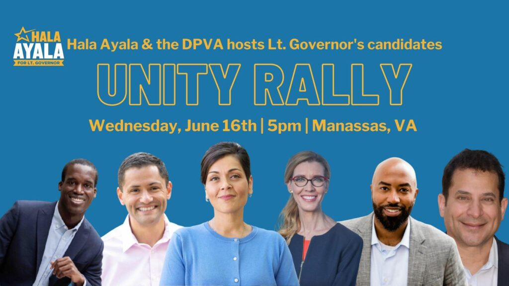 Unity Rally June 16th 5pm