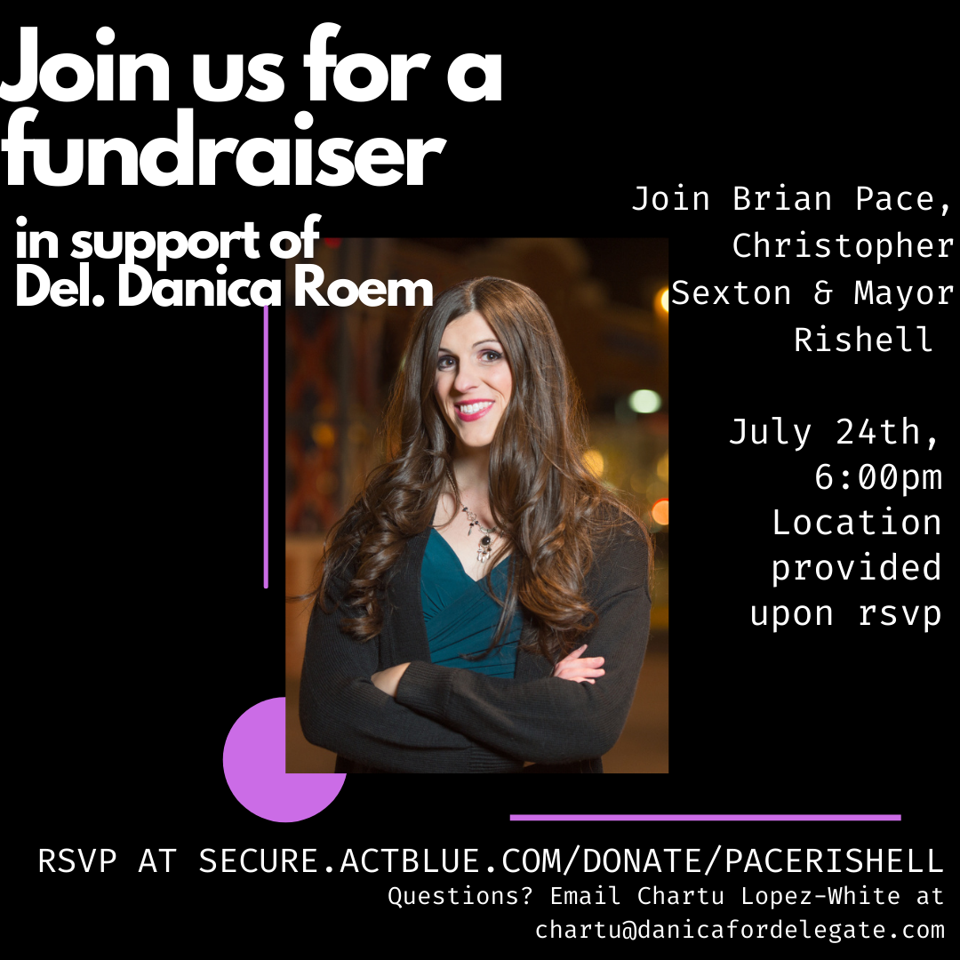 Danica Roem Fundraiser With Mayor Jeanette Rishell