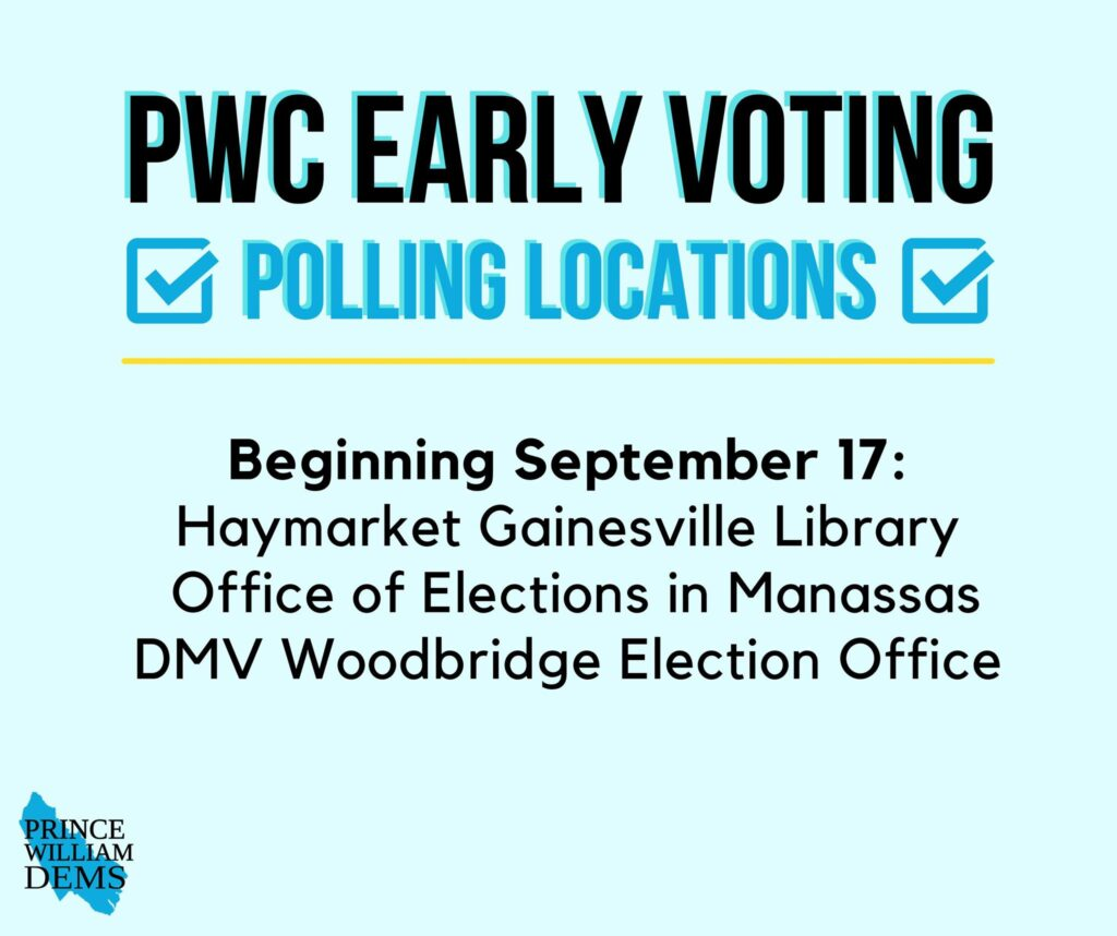 Prince William County Early Voting Polling Locations