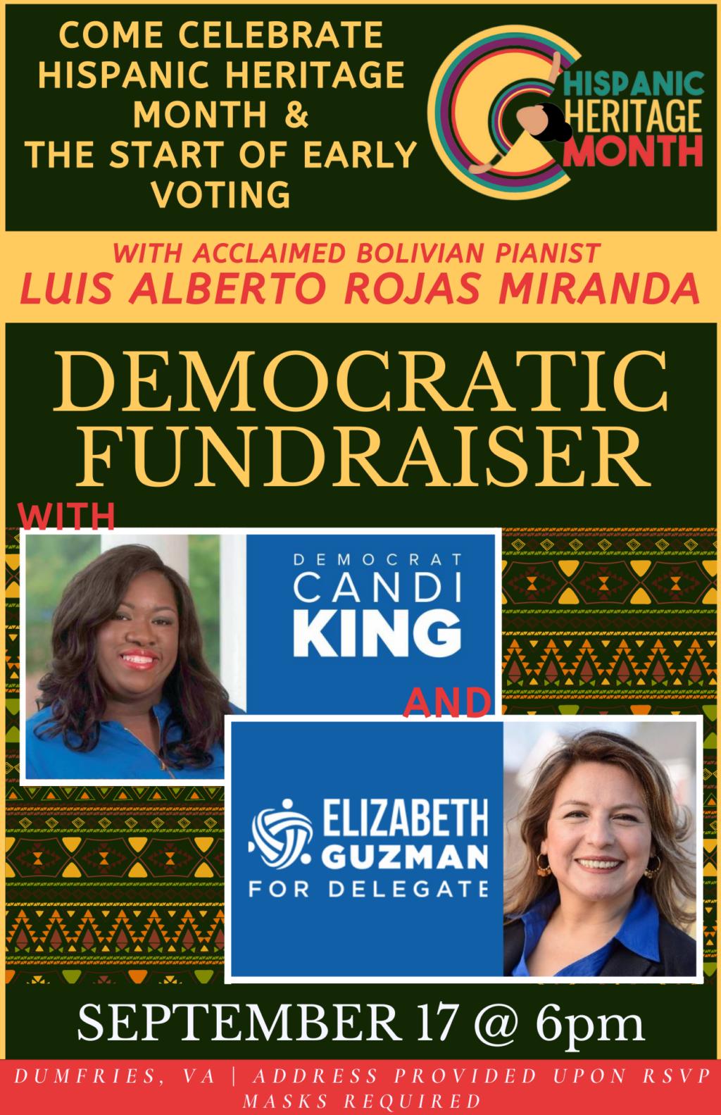 Hispanic Heritage Month Democratic Fundraiser