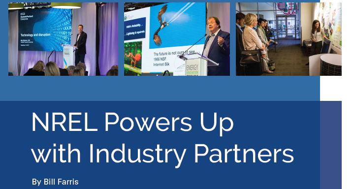 NREL Powers Up with Industry Partners
