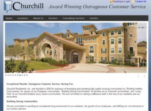 Churchill Residential Portal and SharePoint