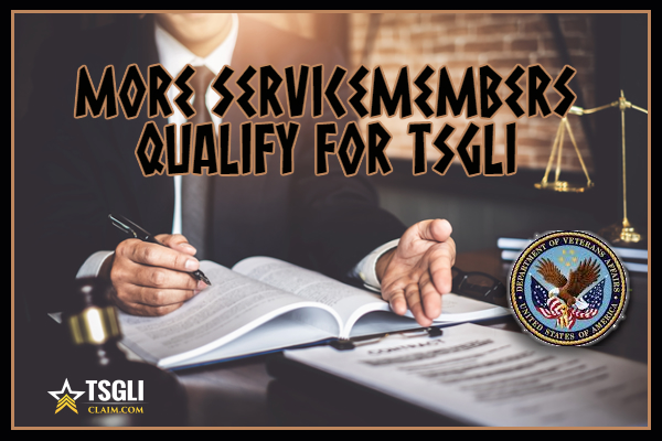 Servicemembers Qualify For TSGLI
