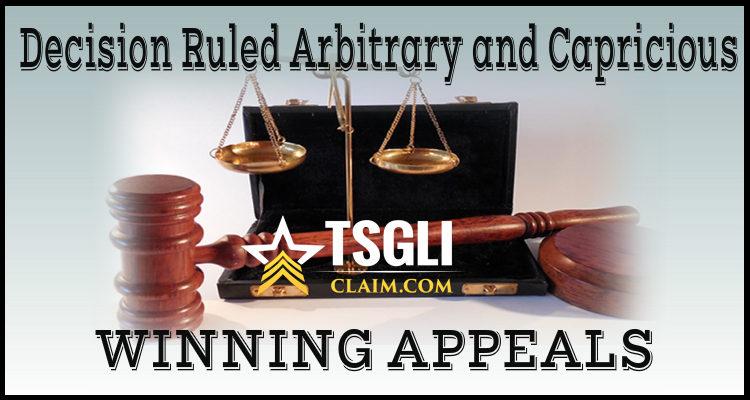 TSGLI Denied Claim