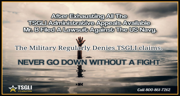 Complaint Filed Against The US Navy
