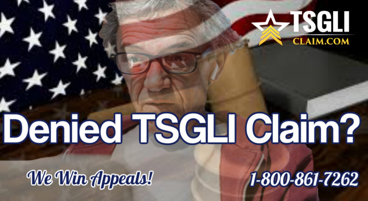 Denied TSGLI Claim